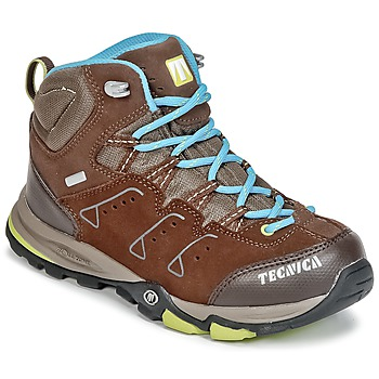 Shoes Children Hiking shoes Tecnica CYCLONE III MID TCY JUNIOR Brown / Blue