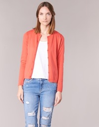 material Women Jackets / Cardigans BOTD EVANITOA Orange