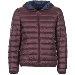 material Men Duffel coats Benetton FOULI Bordeaux / Marine