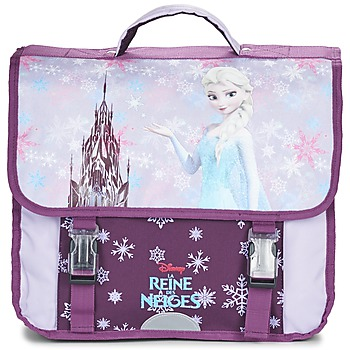 Bags Girl Satchels Disney REINE DES NEIGES CARTABLE 38CM Mauve
