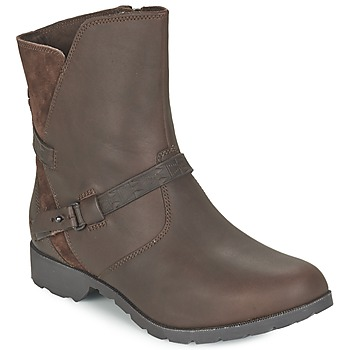Shoes Women Mid boots Teva DELAVINA LOW Brown