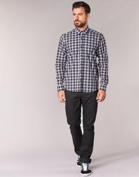 material Men straight jeans Yurban IEDABALO Black