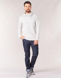 material Men straight jeans Yurban IEDABALO Blue / Raw