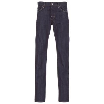 material Men straight jeans Yurban IEDABALO Blue / Raw