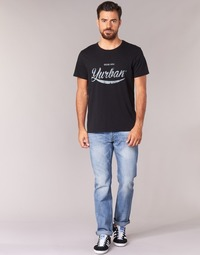 material Men straight jeans Yurban IEDABALO Blue / Clear