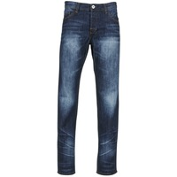 material Men straight jeans Yurban EBOLUIE Blue / Dark