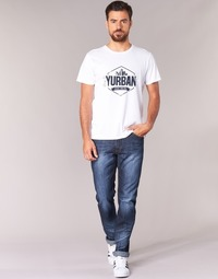 material Men straight jeans Yurban IEDABALO Blue / Dark