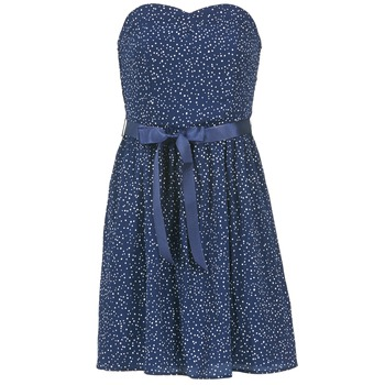 material Women Short Dresses Morgan RPEPS MARINE