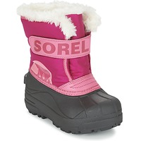Shoes Children Snow boots Sorel CHILDRENS SNOW COMMANDER Pink