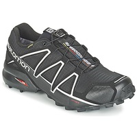Shoes Men Running shoes Salomon SPEEDCROSS 4 GTX? Black / Silver