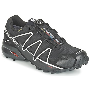 Shoes Men Running shoes Salomon SPEEDCROSS 4 GTX® Black / Silver