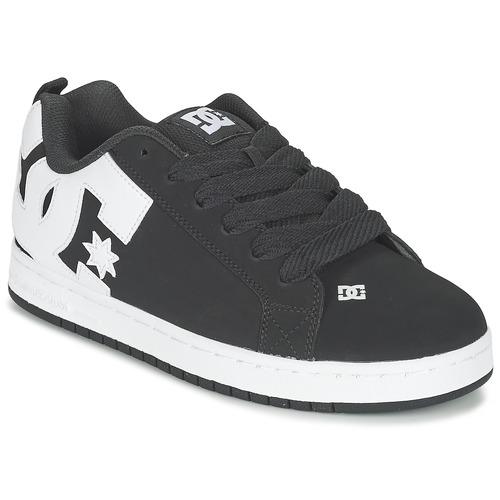 Shoes Men Low top trainers DC Shoes COURT GRAFFIK Black