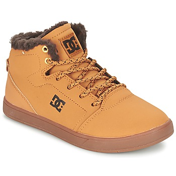 Shoes Children High top trainers DC Shoes CRISIS HIGH WNT B SHOE WD4 Wheat / CHOCOLATE