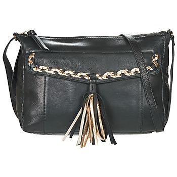 Bags Women Shoulder bags Pieces POFO LEATHER Black