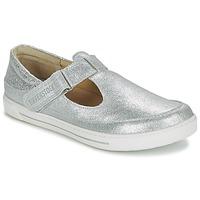 Shoes Girl Ballerinas Birkenstock ABILENE Silver