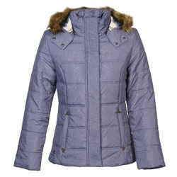 material Women Duffel coats Oxbow SHERGOL Blue