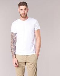 material Men short-sleeved t-shirts BOTD ECALORA White