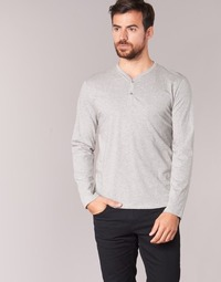 material Men Long sleeved shirts BOTD ETUNAMA Grey
