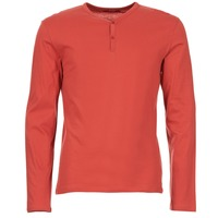 material Men Long sleeved shirts BOTD ETUNAMA Red