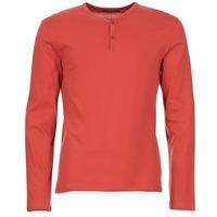 material Men Long sleeved shirts BOTD ETUNAMA Red
