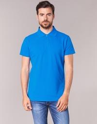 material Men short-sleeved polo shirts BOTD EPOLARO Blue