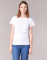 material Women short-sleeved t-shirts BOTD EQUATILA White
