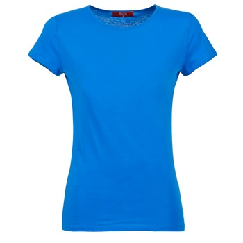 material Women short-sleeved t-shirts BOTD EQUATILA Blue