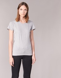 material Women short-sleeved t-shirts BOTD EFLOMU Grey / Mottled