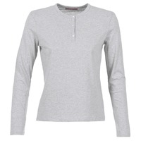 material Women Long sleeved shirts BOTD EBISCOL Grey / Mottled