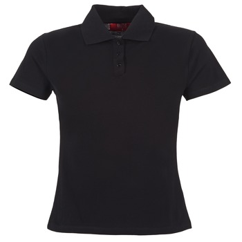 material Women short-sleeved polo shirts BOTD ECLOVERA Black