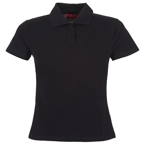 material Women short-sleeved polo shirts BOTD ECLOVERA Black