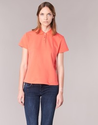 material Women short-sleeved polo shirts BOTD ECLOVERA Orange