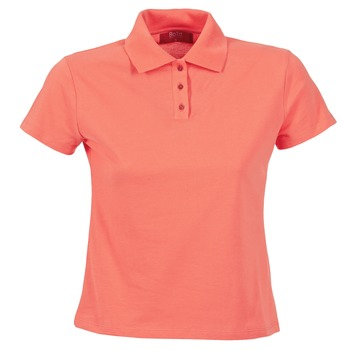material Women short-sleeved polo shirts BOTD ECLOVERA Coral