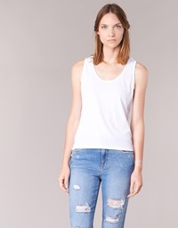 material Women Tops / Sleeveless T-shirts BOTD EDEBALA White