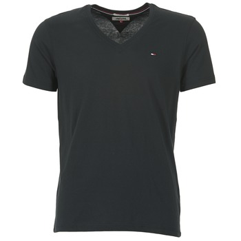 material Men short-sleeved t-shirts Tommy Jeans MALATO Black