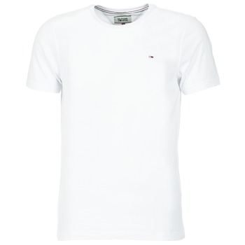 material Men short-sleeved t-shirts Tommy Jeans OFLEKI White