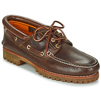 Shoes Men Boat shoes Timberland 3 EYE CLASSIC LUG Brown