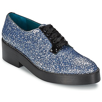 Shoes Women Derby shoes Sonia Rykiel 676318 Blue / Silver
