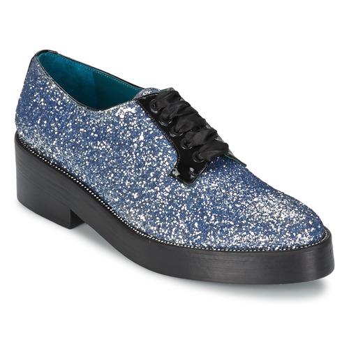 Shoes Women Derby shoes Sonia Rykiel 676318 Blue / Silver