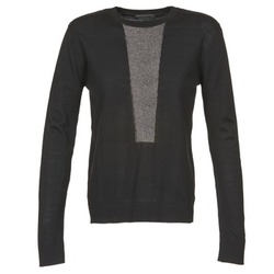 material Women jumpers American Retro NANCY Black