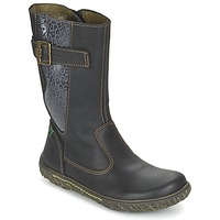 Shoes Girl Boots El Naturalista NIDO Black