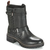 Shoes Women Mid boots Pepe jeans HELEN Black
