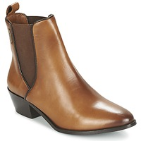 Shoes Women Ankle boots Pepe jeans DINA Brown
