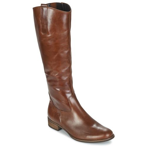 Shoes Women Boots Gabor PARLONI Cognac