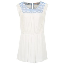 material Women Short Dresses Moony Mood EBENE White