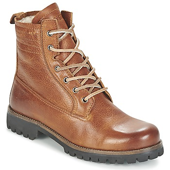 Shoes Women Mid boots Blackstone MAZINE Brown