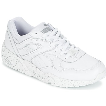 Shoes Men Low top trainers Puma R698 SPECKLE White / Silver
