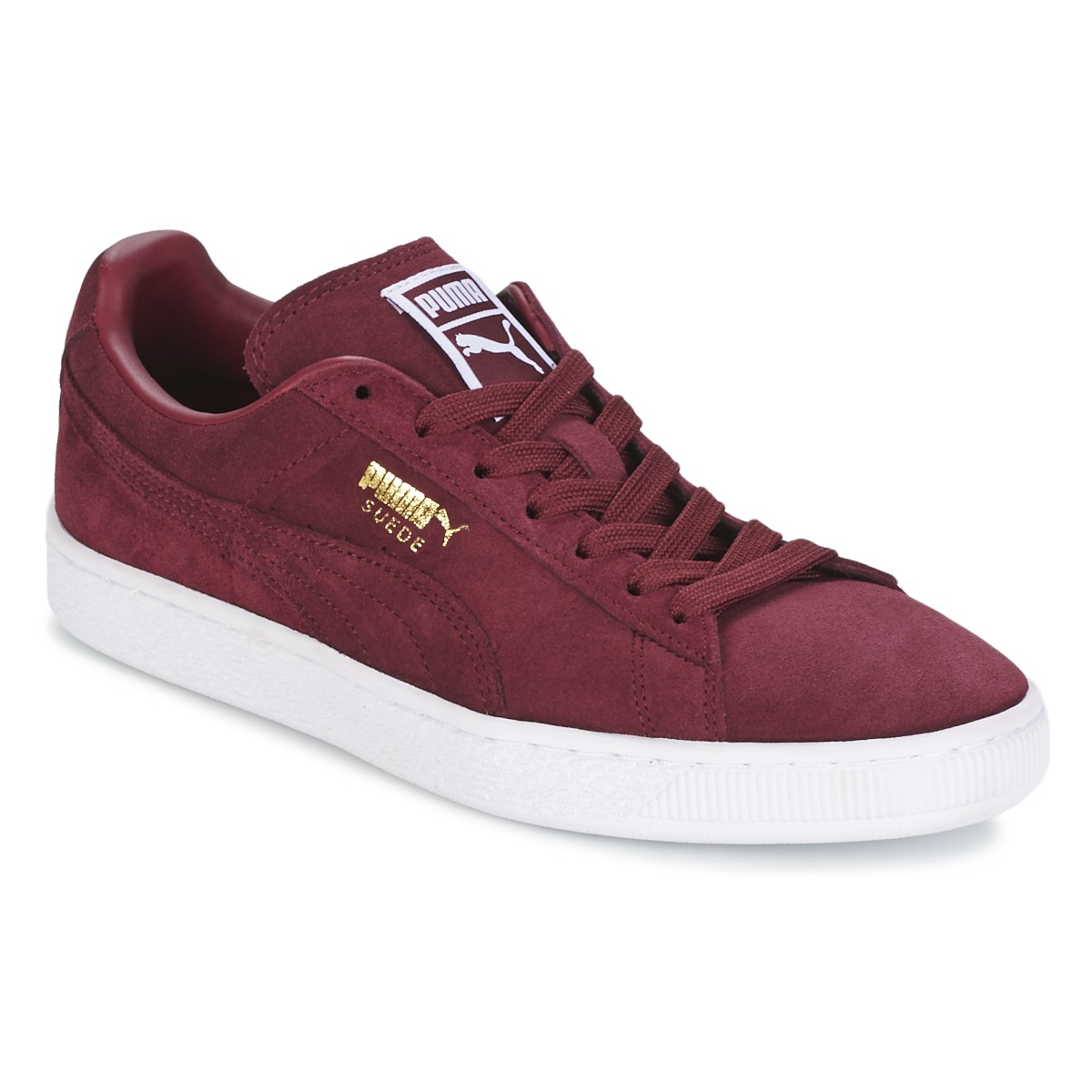 Puma SUEDE CLASSIC + Bordeaux - Free delivery with Spartoo NET ! - Shoes  Low top trainers USD  78.00 65e3b13a4