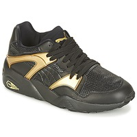 Shoes Women Low top trainers Puma BLAZE GOLD WN'S Black / Gold