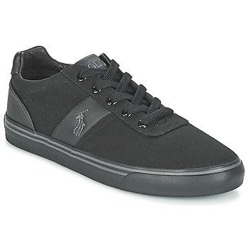 Shoes Men Low top trainers Ralph Lauren HANFORD-NE Black